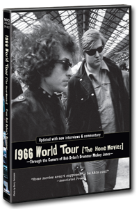 Bob Dylan World Tour DVD Cover