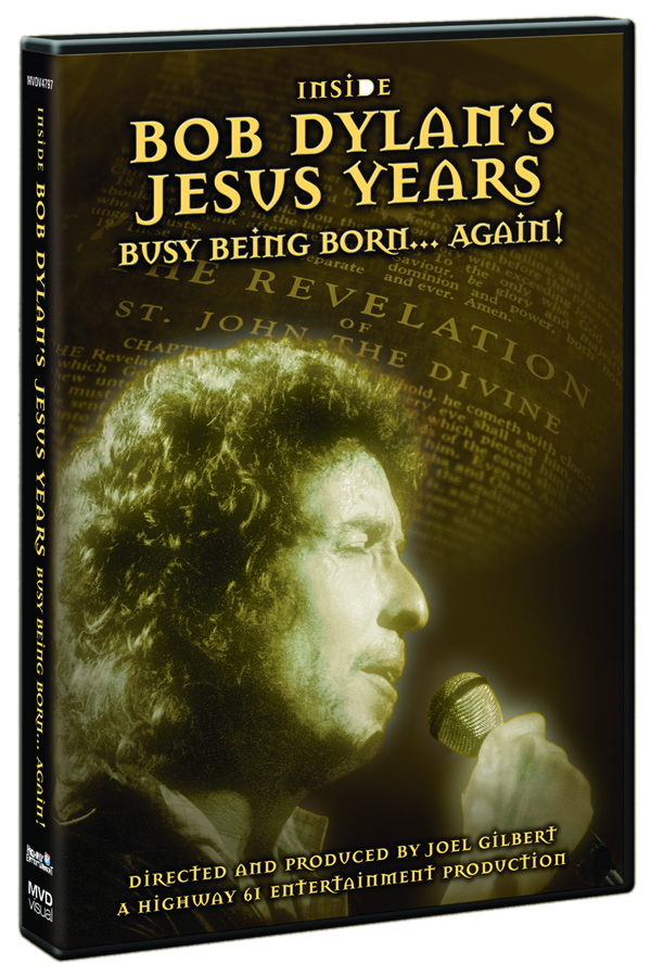 Bob Dylan's Jesus Years DVD Cover