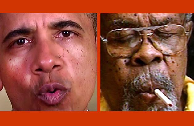 Barack Obama's cover up