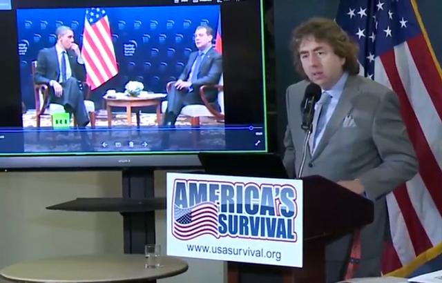 Joel Gilbert - National Press Club - Obama Russia-gate Conferences
